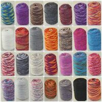 Sale 500gr NEW 1 Cone Yarn Chunky Hand Knitting Colorful Warm Soft Wool Cashmere