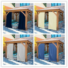 Outdoor Curtain Panel for Patio Privacy Grommets UV Ray Protected/Waterproof