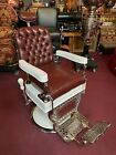 1920 s THEO A  KOCHS Barber Chair   Watch Video