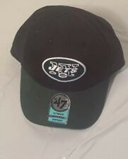 NFL New York Jets Infant Elastic-Back Cap Hat OSFA NEW 47 Brand  black / green