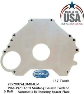 1964-1973 Ford Mustang Fairlane Galaxie 260 289 6 Bolt Block Spacer Plate