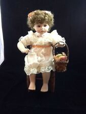 Georgetown Collection ~ Peaches and Cream  porcelain Doll  ~ Ann Timmerman