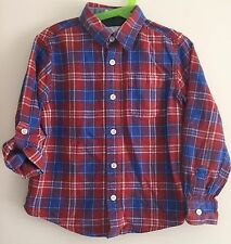 Boys Checked Fat Face Shirt Size 6 Years