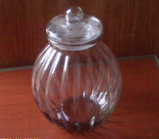 AMICI  GLASS  JAR W / LID USED
