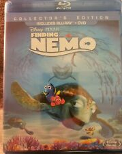 Disney'S Finding Nemo (Blu-ray/Dvd, 2012, 3-Disc Set)Collectors E 00004000 Dition