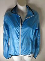 Pearl Izumi Lightweight Windbreaker Blue Cycling Jacket Women's Size Medium