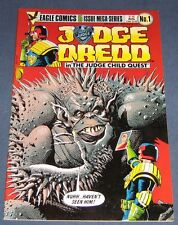 "Judge Dredd #1 Aug 1984 Eagle Comics ""The Judge Child Quest"""