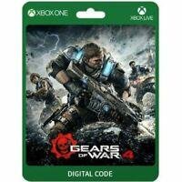 Gears of War 4 Xbox One Windows 10 PC Global Digital Key