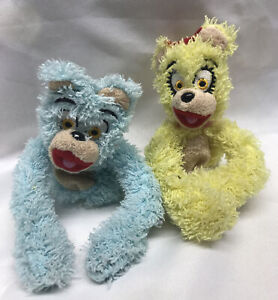 Pee Wee Herman Show On Broadway Merch Bear Finger Puppets Used