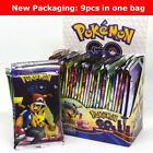 9PCS New packaging Pokemon Go Card lot Rare, Common, Unc Pokemon flash card