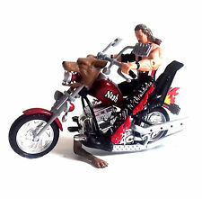 WWE WCW TNA Wrestling KEVIN NASH Classic Superstars Figure Motorbike vehicle