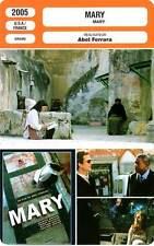 FICHE CINEMA : MARY - Binoche,Whitaker,Modine,Graham,Cotillard,Ferrara 2005