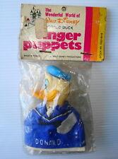 Marionnette ancienne Finger Puppets Donald Scrooge Picsou Dagobert Duck  WDP