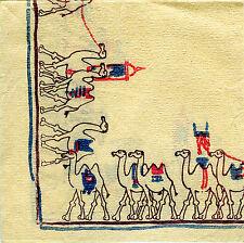 Camel Camels Rare Vintage Paper Napkin 1960 Napkins 60 1960's vtg paiper vintge