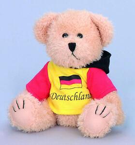EM Fußball Deutschland Fan Bärchen mit Shirt
