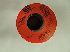 """DENNIS ROBBINS Home Sweet Home/The Only Slide I Ever Played On 7"""" 45 country"""