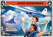 Niger 2016 MNH Supersonic Aircraft Tupolev 4v M/S Aviation Stamps