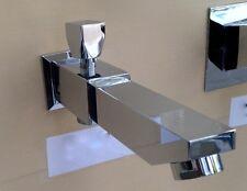 Designer Square Bath Spout & Shower Diverter