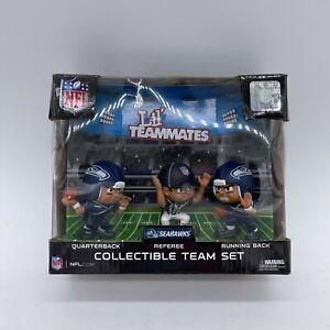 NFL Lil' Teammates 3-piece Seattle Seahawks Team set (QB/RB/Referee) 3-inch