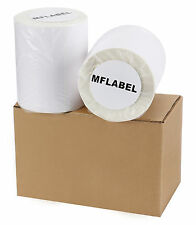 2 Rolls of 250 Direct Thermal Shipping Labels 4x6 For Zebra Eltron LP2844 ZP-45