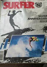 "Surfer Magazine-Jan 1985 ""25 Years Silver Anniversary Issue"" Volume 26 # 1"