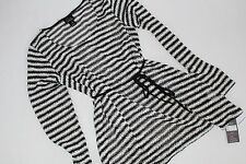 Maternity Oh Baby by Motherhood Size S Small Women's Shirt Top NWT Belt Stripe