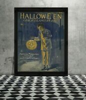 "11x14"" PRINT Vintage Halloween Vintage Halloween Vintage Halloween Decoration"