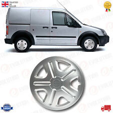 """1 X 15"""" WHEEL TRIM HUB CAP FITS FORD TRANSIT CONNECT ABS SILVER SOLID PLASTIC"""