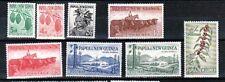 PAPUA NEW GUINEA Sc 139-46 NH SET OF 1958