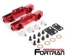 HIGH FLOW FUEL RAIL KIT FOR Subaru WRX STI Impreza GC8 V3 - V4 / RED