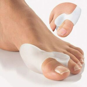 Bunion Corrector Toe Splint Straightener Foot Support Gel Hallux Valgus 1 Pair