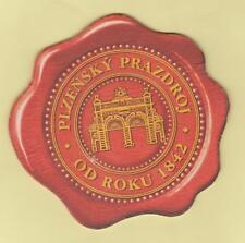 BD - Bierdeckel-Coaster ,Tschechien , Pilsner Urquell , Pilsen