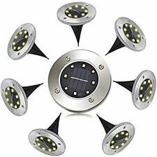 Jooayou Solar Lights Outdoor Garden, Solar Ground Lights Waterproof Outdoor 8