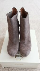 JOAN & DAVID Suede Wedge Dayvonna Tan color Booties Size 8 $35.00