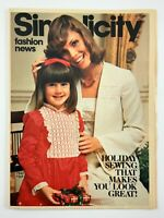 1975 Womens Fashion Vintage Zellers Flyer January Simplicity Fashion News 720A