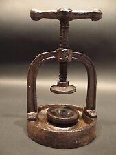 Antique Vintage Style Cast Iron Juice Nut Cracker Press