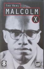 MALCOLM X - THE REAL STORY  - VHS