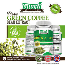 Green Coffee Bean Extract w/GCA's Increases Energy for Weight loss & Fat Burning