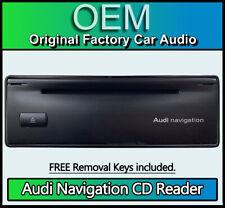 Audi A6 C5 4B Sat Nav Navigation unit GPS CD drive reader 4B0919887E 7612002007