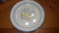"Vera Fina Radiance Salad Plates 8 7 3/4"" Stoneware Salad Dessert Plates Tags EUC"