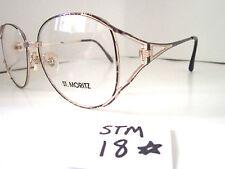 Vintage 1980s Sun/Eyeglasses Frame #Adorra Violet by ST. MORITZ (STM-18)