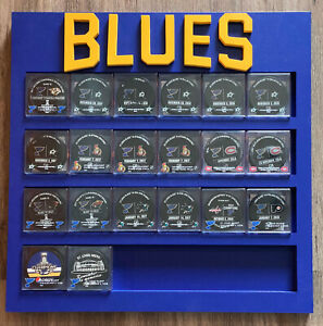 Custom Wooden Hockey Puck Display Case ~ 3 Different Sizes ~ You Pick Design