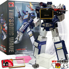 THF Transformers - THF-01J Sonic Wave ( KO Masterpiece MP-13 SoundWave )