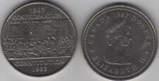 1982 Canada Commemorative Constitution One Dollar Coin. NICE GRADE UNC.