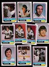 1975 O-PEE-CHEE WHA Team SET Lot of 10 NE Hartford WHALERS NM- FOTIU WEBSTER OPC