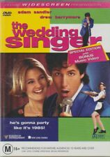 D.V.D MOVIE  DB893  THE WEDDING SINGER    STILL SEALED  DVD