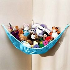 NEW DOZENEGG Deluxe Pet Net - Stuffed Animal & Toy Organizer - Hammock BLUE NET