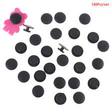 100PCS Plastic Buttons Ornaments DIY Shoes Charms for Kids Lightweight BucklYH