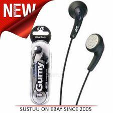 JVC Gumy In Ear Black Headphone│Earphone/Earbud│For Mobile Phone-iPod-iPhone