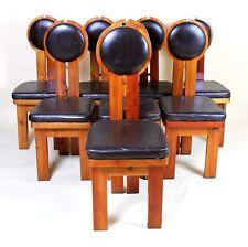 VINTAGE con 1960' sedie design studio ungherese 8 disponibili